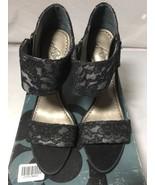 NORDSTROM Platinum BP GIA Black Heels Shoes Women's Size 8M - $44.55