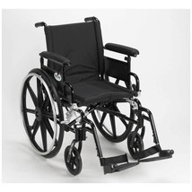 Drive Medical Viper Plus GT With Full Arms and Footrests 18'' - $408.19