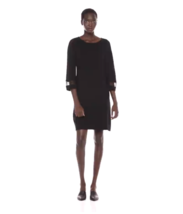 Calvin Klein Women's Sweater Dress with Novelty Illusion Sleeve Skirt He... - $35.76
