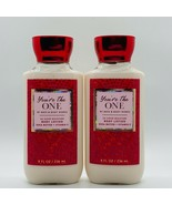 2-Pack Bath & Body Works YOU'RE THE ONE 2020 Body Lotion 8 fl.oz 236 ml - $29.65