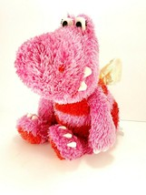 Hallmark Bernice Plush Dragon Sound Motion Singing Animated Valentine An... - $17.81