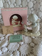Enesco Precious Moments 1987 Members Only Figure Feed My Sheep Pm871 - $9.69