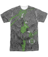 Authentic DC Comics Green Lantern Vanquish Evil Sublimation Front T-shir... - £21.79 GBP+