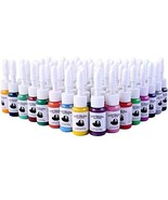 Tatooine 54 Colors Tattoo Ink Set Pigment Kit Tattoo Paints Tattoo Suppl... - $26.73