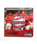 Vintage MLB West Division Champion Anaheim Angels 2005 Season Highlight DVD - $8.99