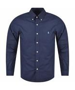POLO RALPH LAUREN Men's Cotton Shirt Slim Fit  Blue Sz XL - $59.39
