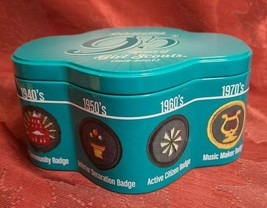 Celebrating 95 Years Of Girl Scouts (1912-2007) Collectible Cookie Tin Container image 2