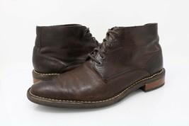 Cole Haan Mens Ankle Boots C11858 Brown Lace Up Plain Toe Footwear 10 EU... - $59.99
