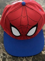 Spider Man Cap Marvel Spiderman Hat Snapback Adjustable - $19.70
