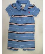 Ralph Lauren stripe short set shortall SIZE 6 MONTHS - $9.85