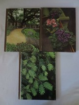 The Time Life Encyclopedia Of Gardening - 3 Books House Plants, Evergree... - $5.00