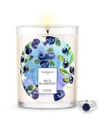Kate Bissett Baubles Wild Blueberry Scented Premium Candle and Jewelry w... - $26.72