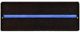 Thin Blue Line Patch - 4x1.5 inch Embroidered Iron-On Patch For Law Enfo... - $5.89