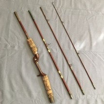 Vintage 4 Piece Wright & McGill Eagle Claw Trailmaster 6.5' Fishing Rod ... - $61.07
