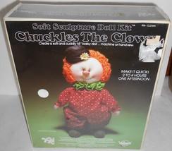 Chuckles The Clown Vintage Soft Sculpture Doll Kit YKI Valiant Crafts 19... - $12.40