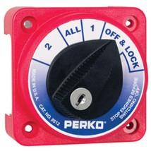 Perko Compact Medium Duty Battery Selector Switch w/Key - $98.34