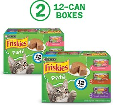Purina Friskies Pate Wet Cat Food Variety Pack, Salmon, Grilled - 2 Pack... - $24.99