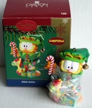 Carlton Cards Garfield Cat Elfish Antics Christmas Ornament 2004 Heirloo... - $27.35
