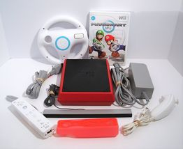 Nintendo Wii Mini System Console with Mario Kart and Wheel - $74.95