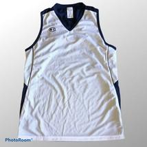 Champion Reversible Basketball Mesh Blue White Pinnie Jersey Size 2XL - $14.50