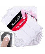 3 Packs French Manicure Nail Art Tip Guide Sticker Stencil Round Form De... - $2.89