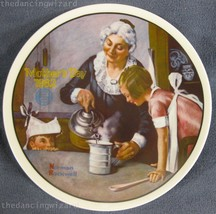 The Cooking Lesson Rockwell Mothers Day Annual Collector Plate 1982 COA ... - $17.95