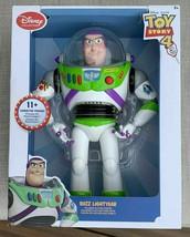 Disney Pixar TOY STORY 4, BUZZ Lightyear, Talking Action Figure, NIB BRA... - $52.13
