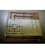 Nine Men Morris Game-Complete - $14.00