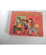 Vintage Donkey Party Game 4408 Pin the Tail W/Instruction Book of Game W... - $23.99