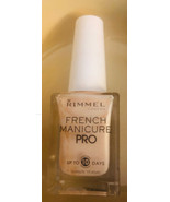 Rimmel Nail Polish French Manicure French Lingerie # 130 Full Size Bottles - $7.73