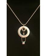 Ephemeral Upcycled Pendant Necklace (19.78) - $20.00