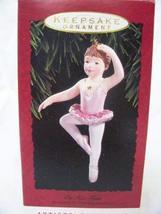 """1993 Hallmark Keepsake Ornament """"On Her Toes"""" Ballerina - $5.94"""