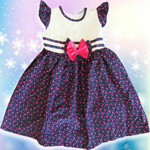 GIRLS KIDS FASHION CUTE FLOWERS PRINCESS MULTICOLOR FLORAL CHILDREN DRES... - $25.99