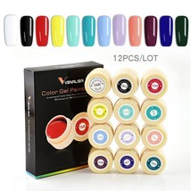 Venalisa 12PCS/Lot UV Gel Nail Art Design Manicure UV Soak Off DIY Paint... - $24.24