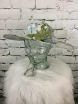Vintage Twist Sun Hat Floral Lightweight - $19.79