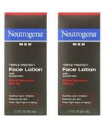 (2) Pack Neutrogena Men Triple Protect Face Lotion - SPF 20 - FREE SHIP!!! - $15.49