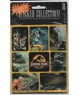Instant Sticker Collection - Jurassic Park - 1993 - Universal City Studi... - $3.43