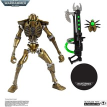 "McFarlane WARHAMMER 40000 Necron Warrior 7"" Action Figure ~NEW~ FREE SHI... - $28.49"
