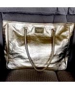 Victoria's Secret Runway Gold Metallic Purse Tote Bag - £14.47 GBP