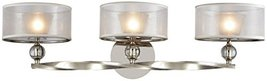 Elk Lighting 32292/3 Vanity-Lighting-fixtures, 10 x 31 x 10, Silver - $374.00