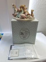 Cherished Teddies Brenna 2001 Winter Show Exclusive #864315 NIB - $35.29