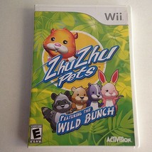 Zhu Zhu Pets Game: Featuring the Wild Bunch (Nintendo Wii, 2010)  - $9.85