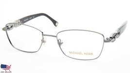 NEW MICHAEL KORS MK363 038 LIGHT GUNMETAL EYEGLASSES FRAME 52-17-135 B34... - $84.14