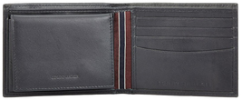 Tommy Hilfiger Men's Premium Leather Credit Card ID Passcase Billfold Wallet image 6