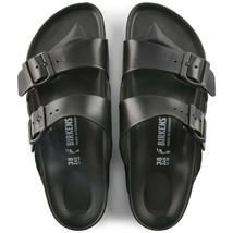 Birkenstock Womens Arizona Eva Black Narrow Strap Comfort Fashion Sandals 129423 - $76.99