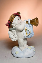 Dreamsicles: Glad Tidings - DD100 - Cherub Playing Horn - $23.55