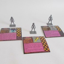 Rogue Psylocke Shadowcat Figures X Men Alert Game Cards Pressman 1992 - $17.81