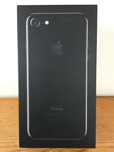 EMPTY BOX ONLY Apple iPhone 7 Jet Black 128GB Model A1660 Packaging Box - $19.99