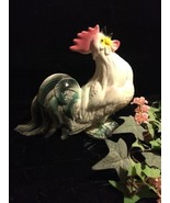 VTG 1960's 1970's Ceramic Rooster Chicken Kitchen Figurine Country DECO... - $15.83