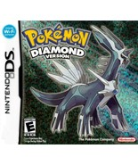 Pokémon Diamond Version Nintendo DS Great Condition Fast Shipping - $59.93